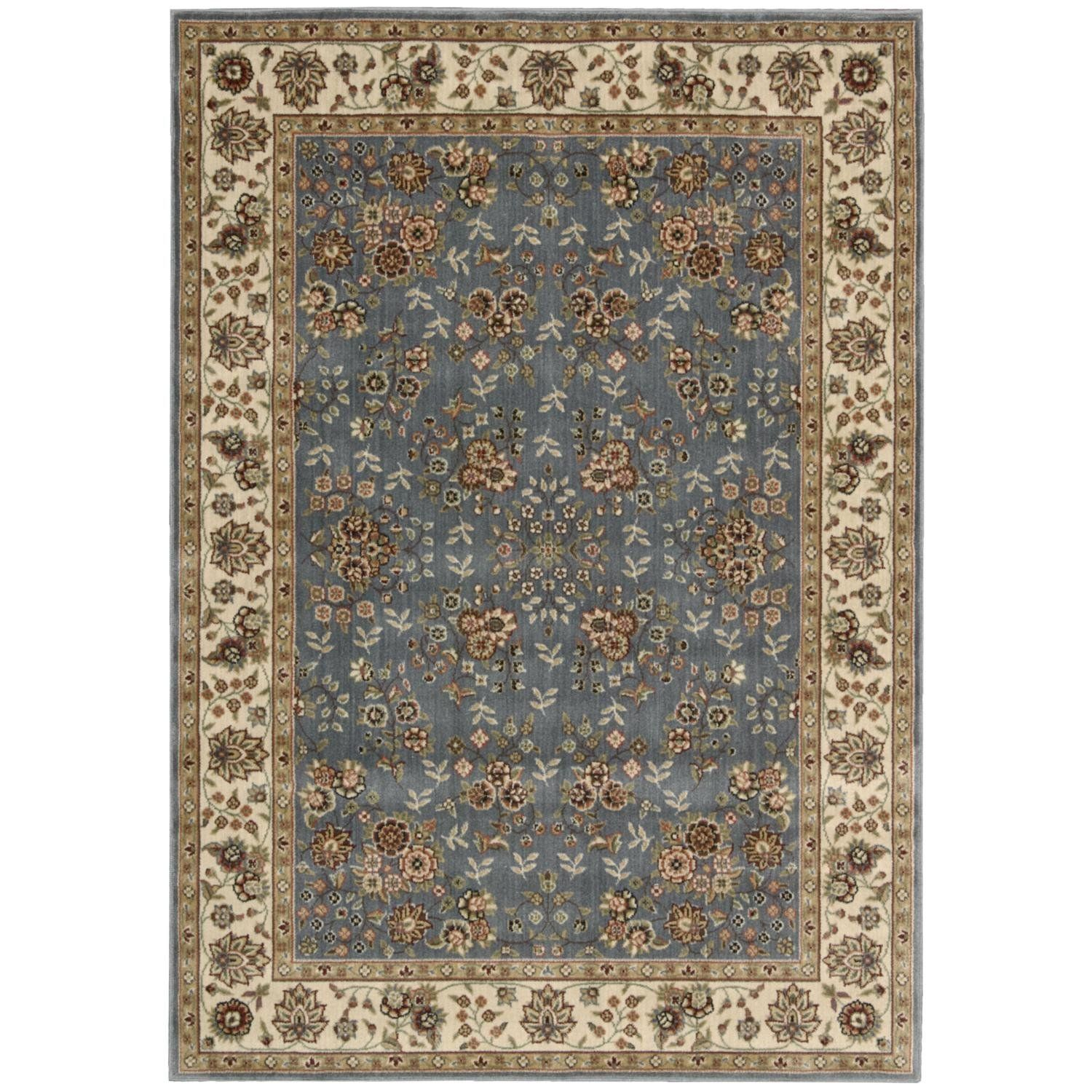 Nourison Persian Arts BD05 Light Blue Rectangle Area Rug 5 Feet 3