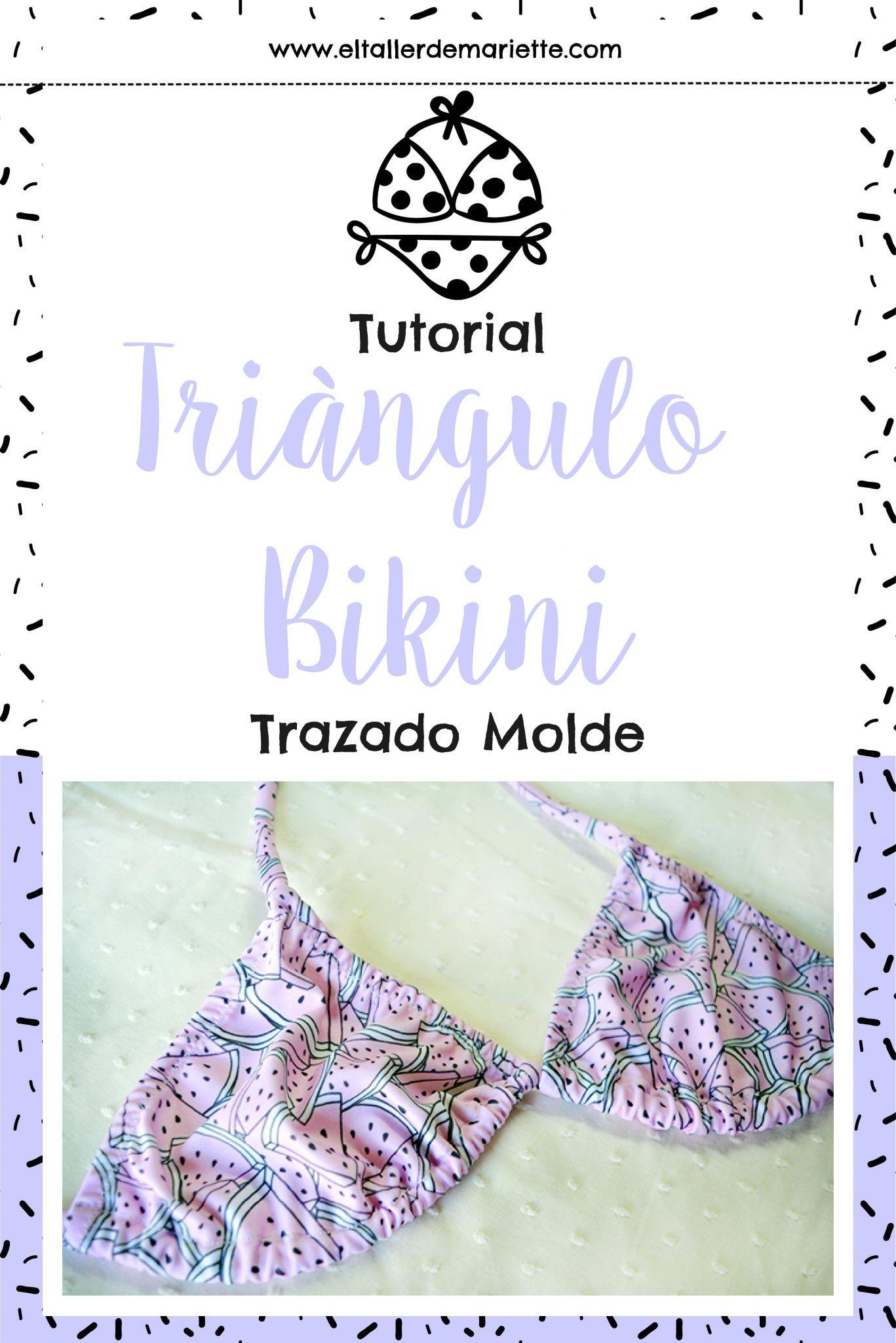 Triángulo Del El Molde Tutorialcómo Hacer BikiniBolsa kiuXPZOT