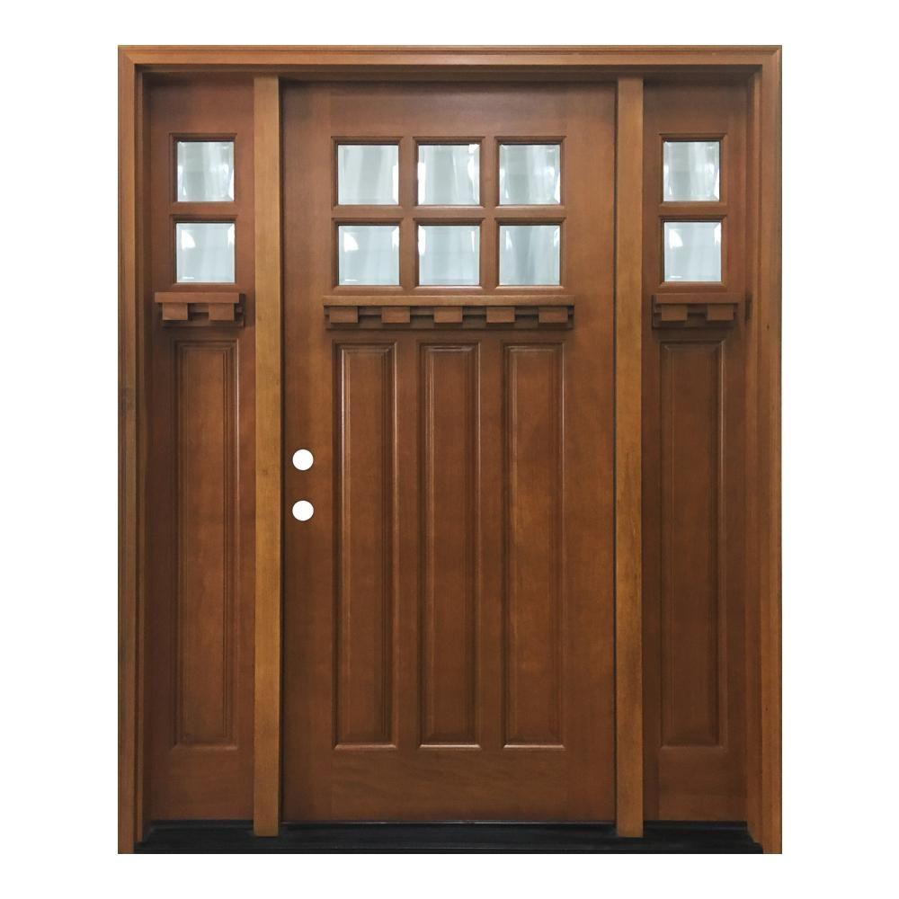 Beautiful Prehung Wood Entry Doors