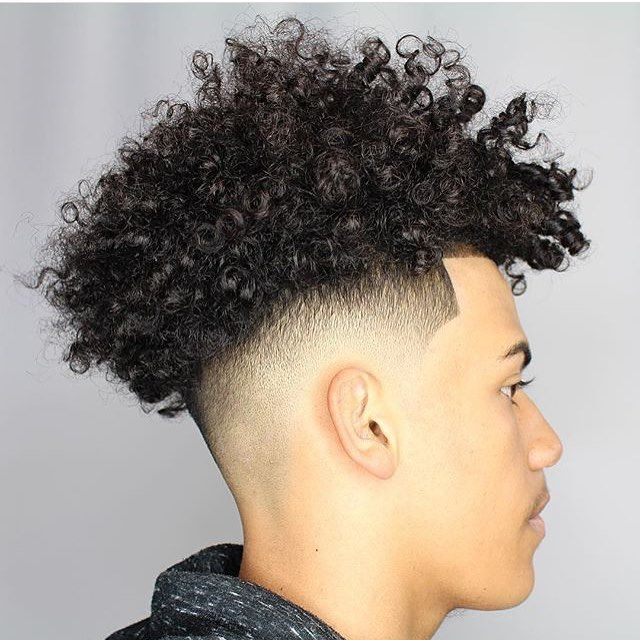 Mixed Race Hair Styles Male: @sprucecruz #nicestbarbers