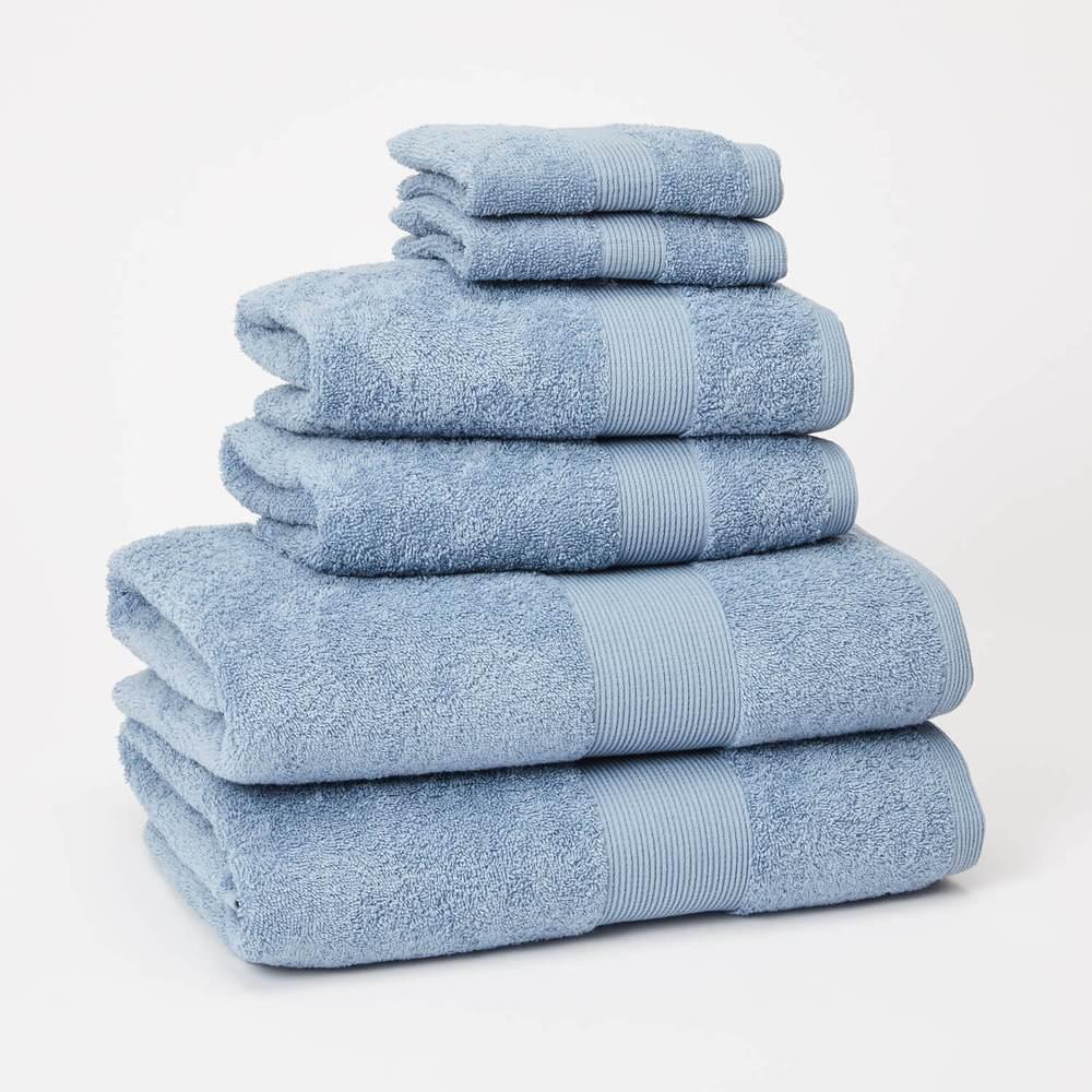 Basic 6 Piece Towel Set - Light Grey (With Images)