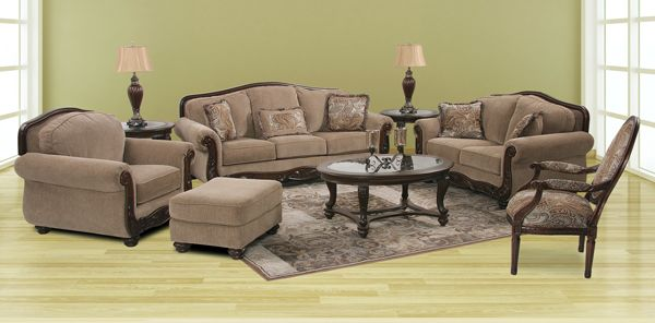 The Martinsburg Meadow Upholstery Collection from Ashley Furniture