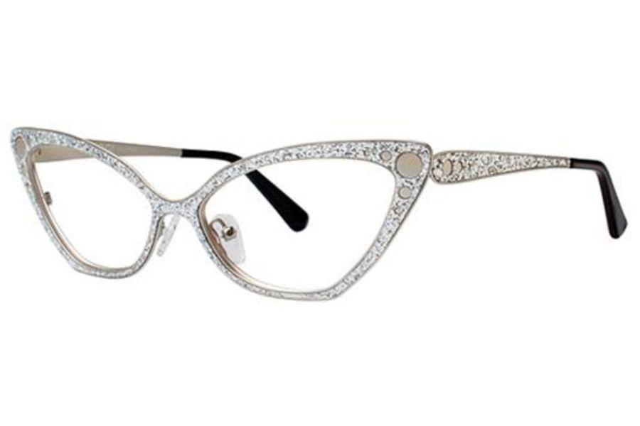 832a802fda84 OGI Eyewear 4307 Eyeglasses in 1775 Silver Glitter Silver