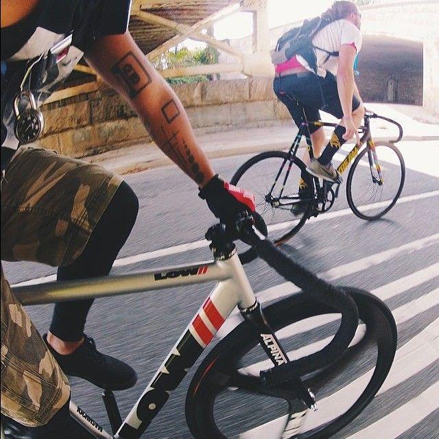 LOW// & skream bikes