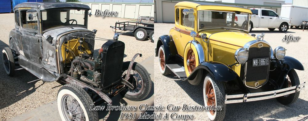 Automotive Restoration At Law Brothers Customs Custom Motorcycle