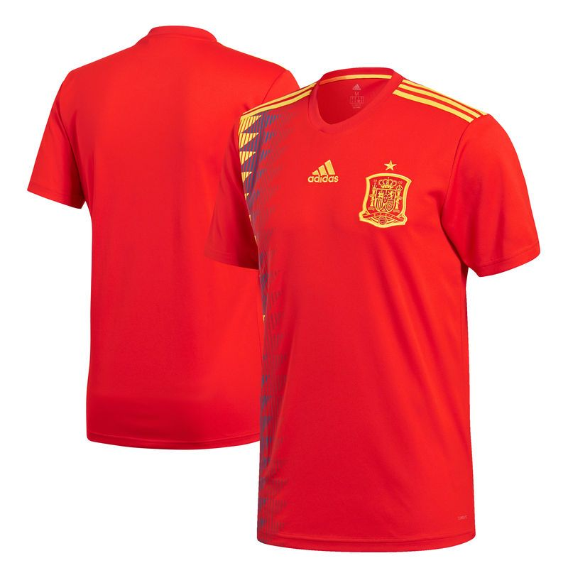 c38081a1f Spain National Team adidas 2018 World Cup Home Replica Blank Jersey – Red