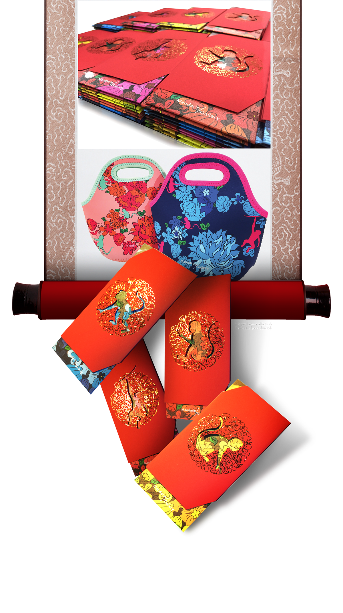 Mandarin Gallery Premium Red Packets on Behance