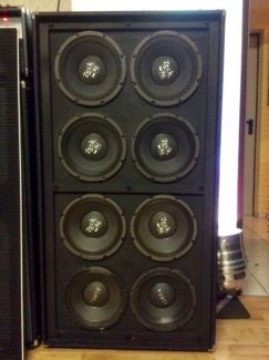 AMPEG 810 Bass Box Custom Made mit Electrovoice 10 Force