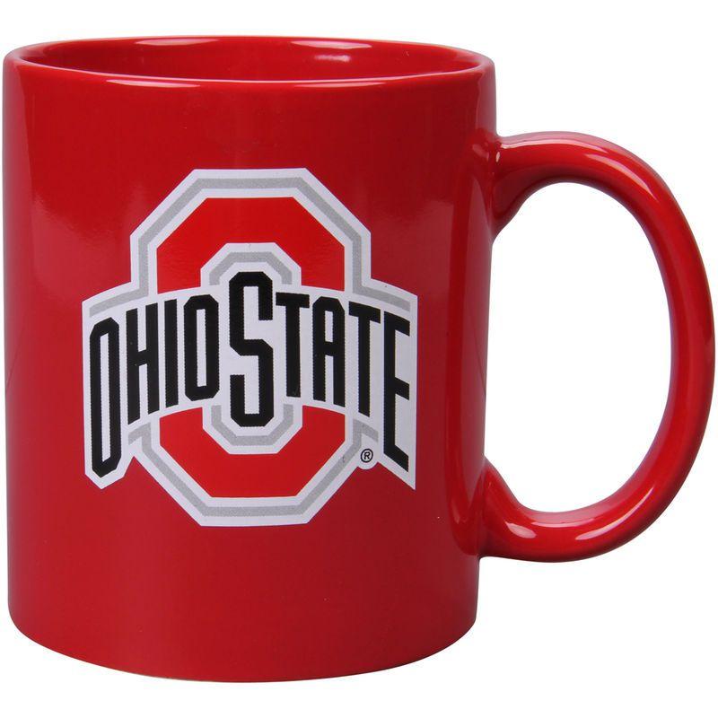 Ohio State Buckeyes 11oz. Color C-Handle Coffee Mug - Scarlet