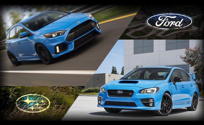 Poll Ford Focus Rs Or Subaru Wrx Sti Subaru Wrx Subaru Wrx