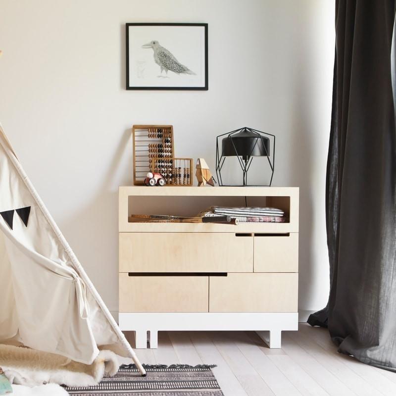 Kutikai Kommode: Verwandlungskünstler In Modernem Design Von Der  Babykommode Zum Wickeltisch Und Wieder Zurück: