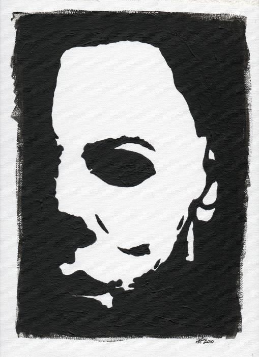 michael myers art | Michael Myers Painting by Kris P - Michael Myers ...