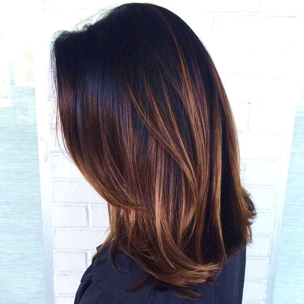 Fresh Black Brown Hair Color Ideas