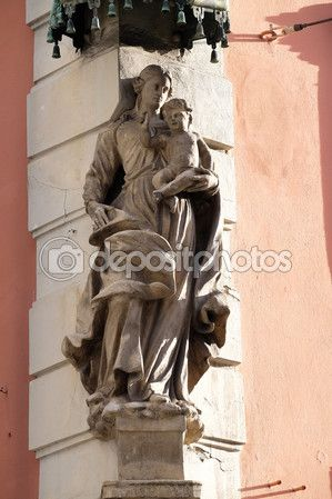 Virgem Maria com o menino jesus — Imagem de Stock #65433227