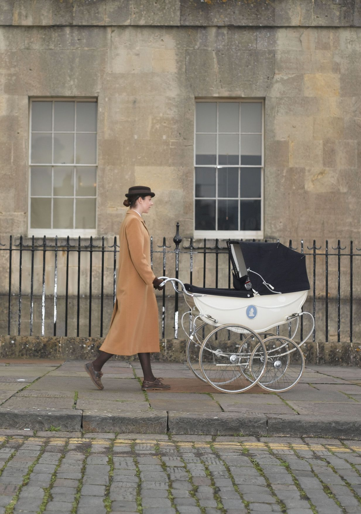 norland studnet with pram
