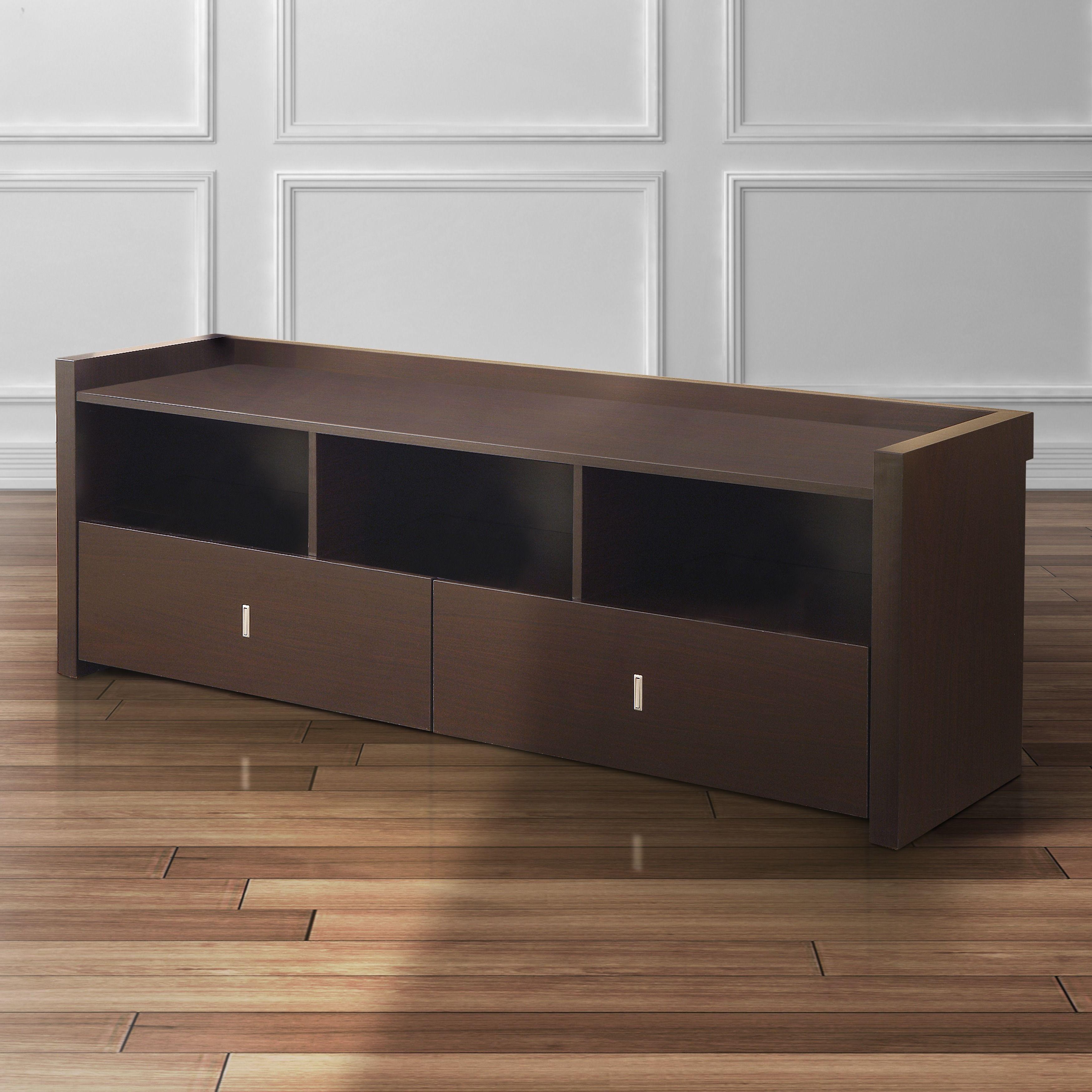 Furniture of America Valenciara Entertainment Console 60 inch