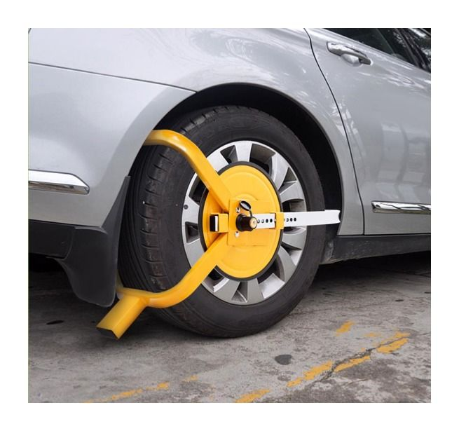 Sabot roue antivol caravane, voiture, camping car, remorque – BIGB
