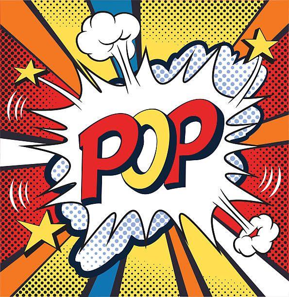 POP – Comic strip. Comic book, cartoon expression, vector…