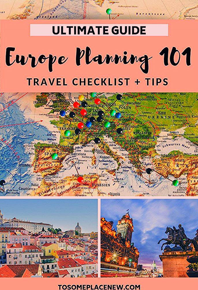 Photo of Europe Travel Checklist for Planning a Trip to Europe – tosomeplacenew