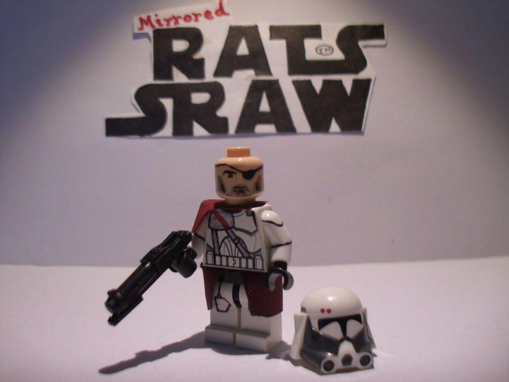 Lego Star Wars minifigures - Clone Custom ARC Trooper Fives - 501st ...