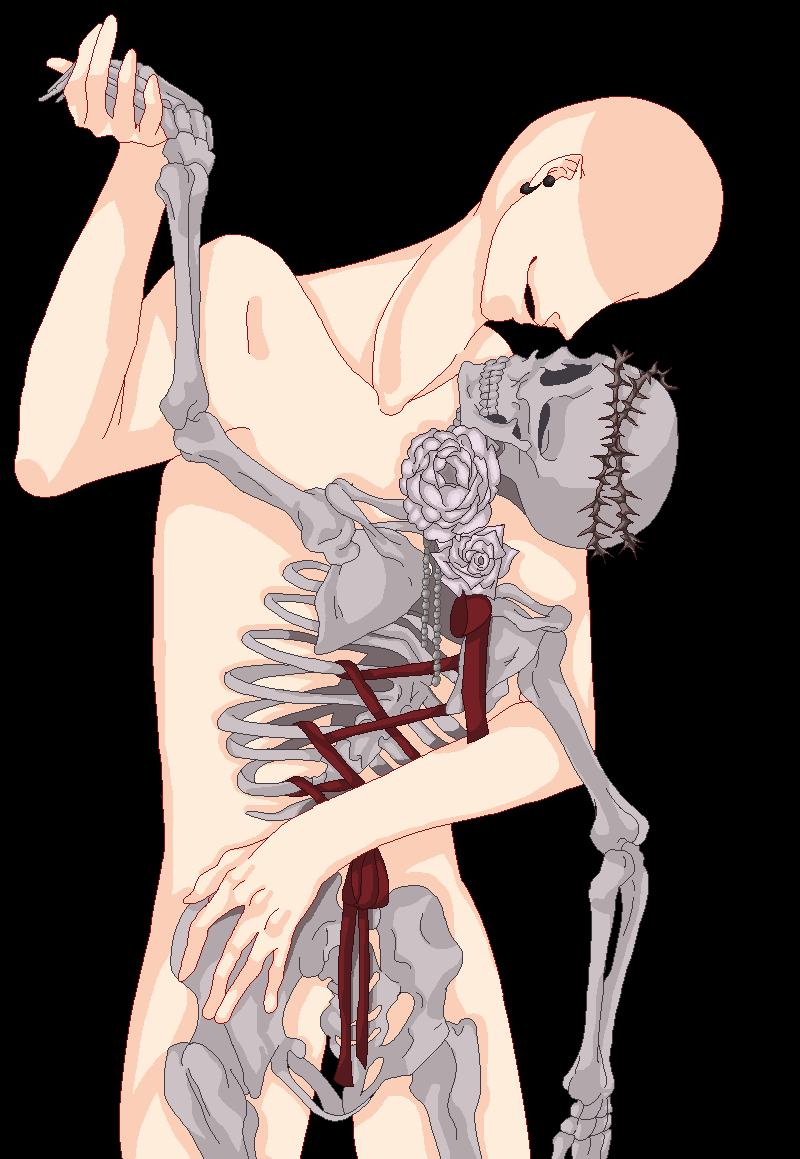 Dancing with a skeleton base 13 by basesmayura deviantart com on deviantart