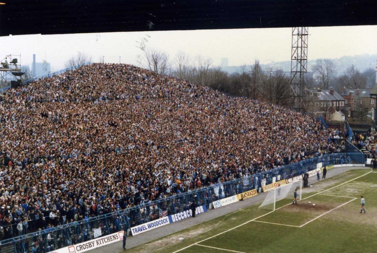De Woensdagfoto The Kop Hillsborough Football Culture