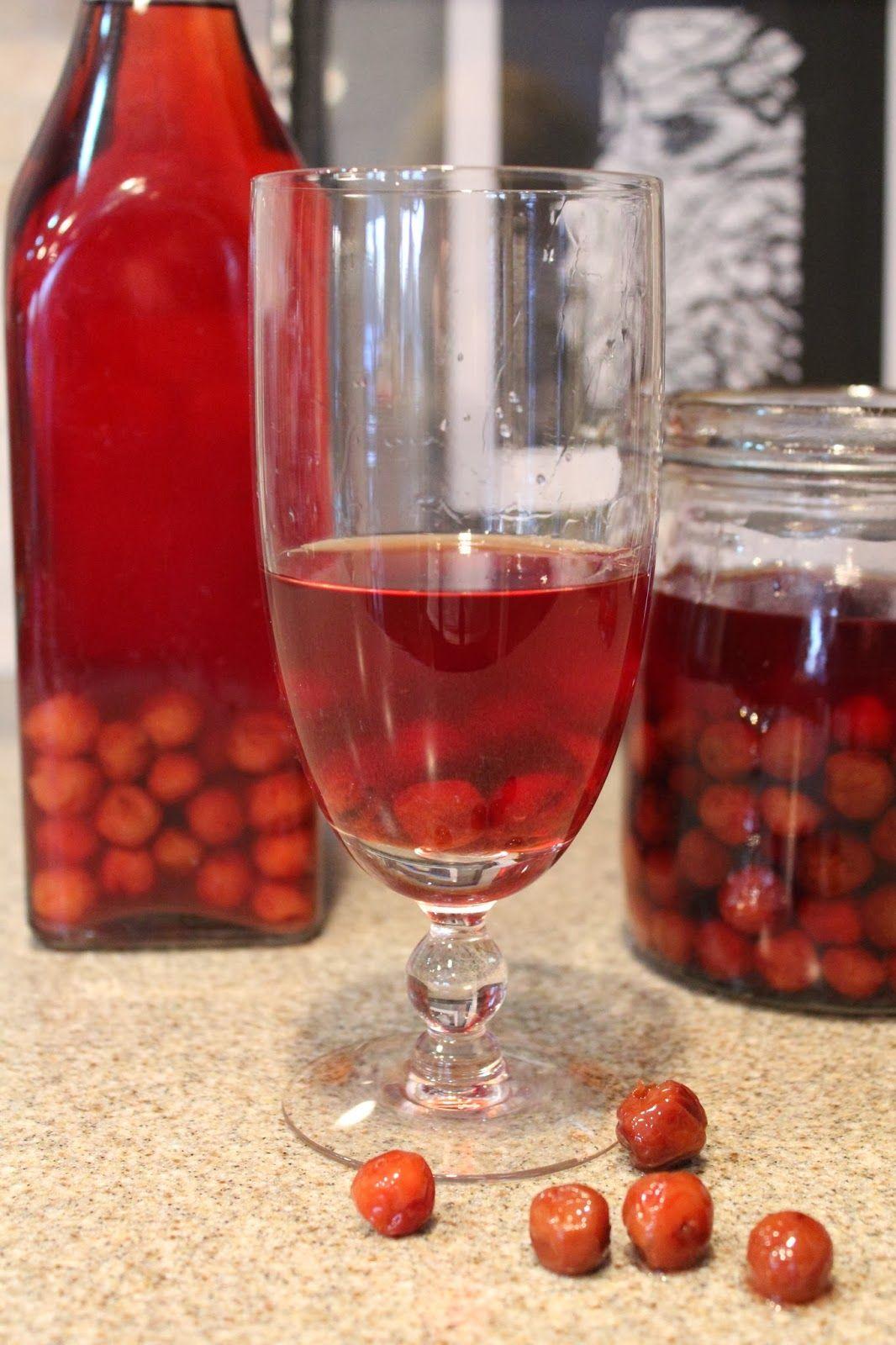 Cherry Brandy Visinata Cherry Brandy Cherry Liquor Recipe Liquor Recipes