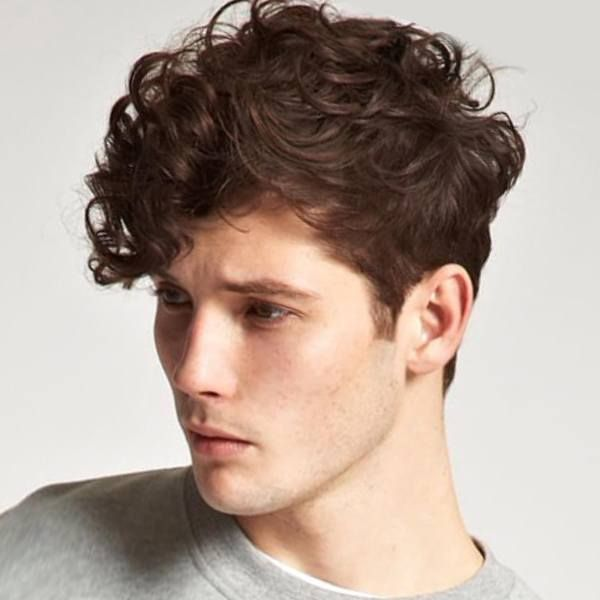 Whimsy And Curly Boy Classic Hairstyle Boy Hairstyles Boys Curly Haircuts Curly Hair Men