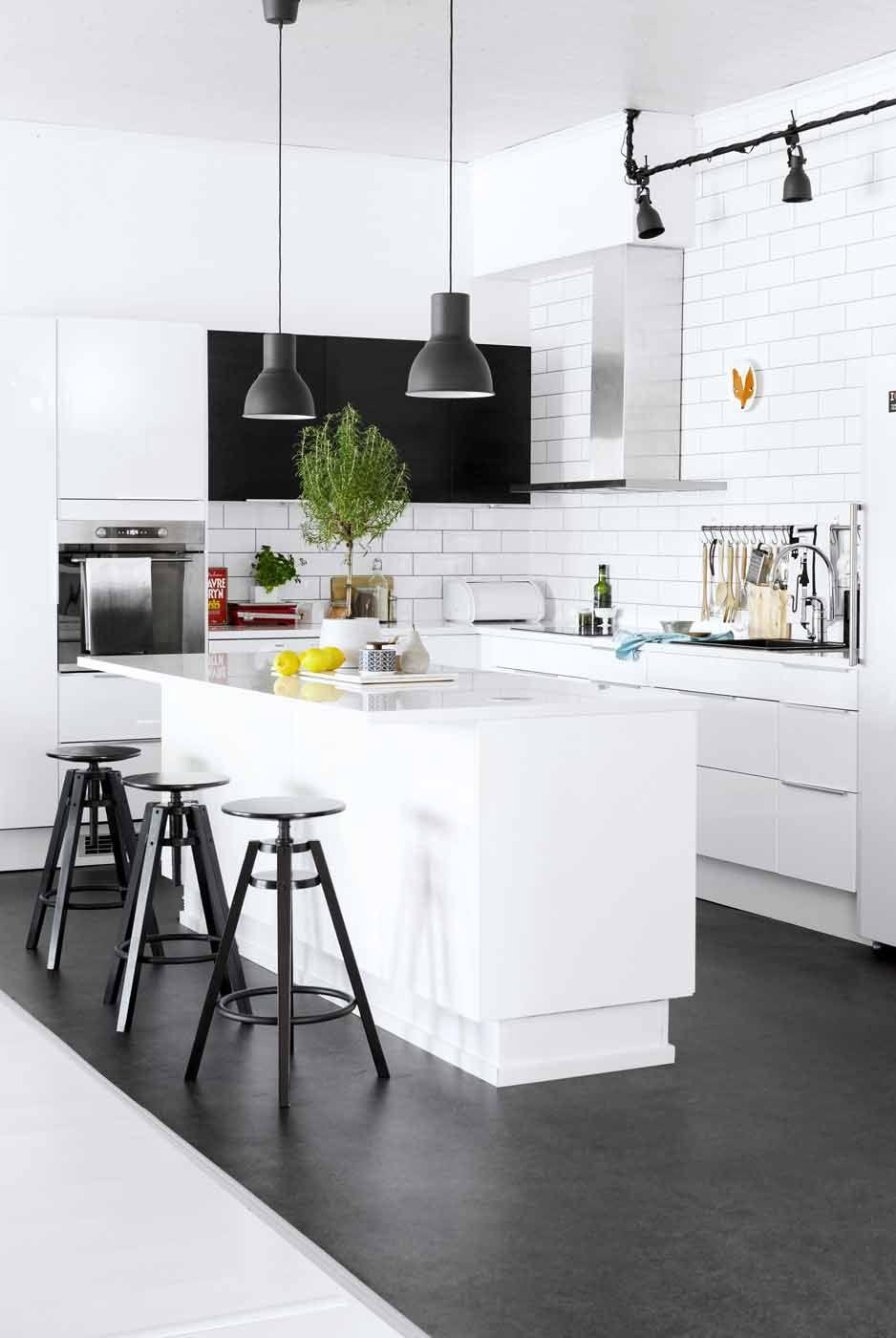 Raikas mustavalkoinen koti pendant lamps kitchens and modern