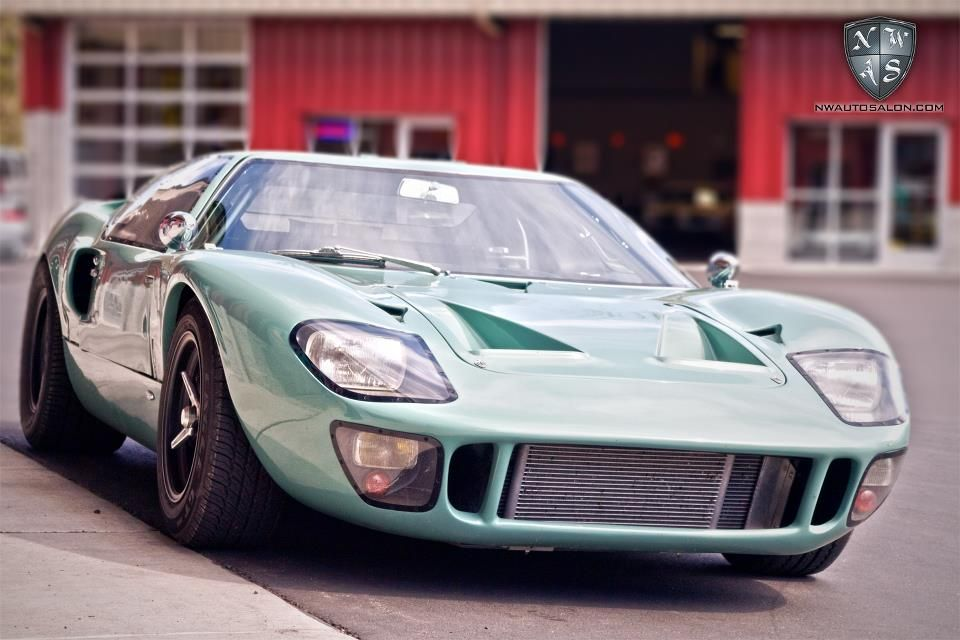 Hold The Phones Is There Really An Original Linden Green Ford Gt40 Outside