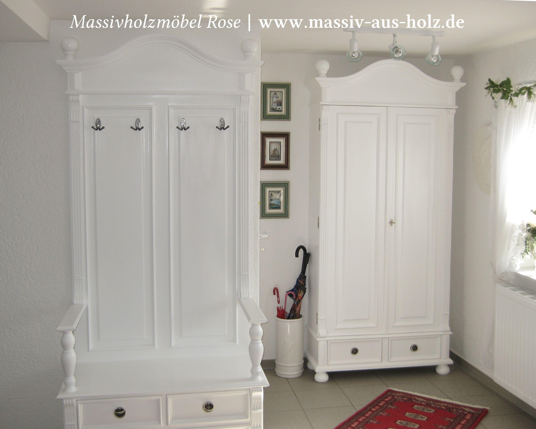Eintreten und Wohlfühlen – #weiße #Möbel machen den Empfang zu ...