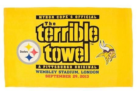 Tomorrow is the day! Steelers terrible towel, Pittsburgh
