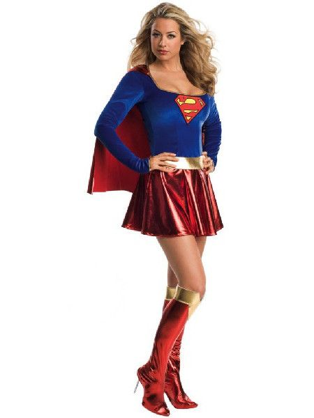 Supergirl Costume from Three Muses Inspired Clothing