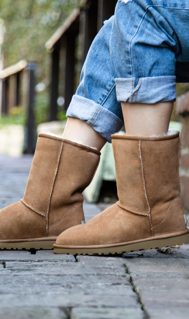1115725594c The off duty look with the Classic UGG | god bless the shoes | Uggs ...