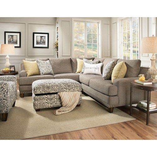 franklin julienne sectional sofa with four seats old brick furniture sofas the