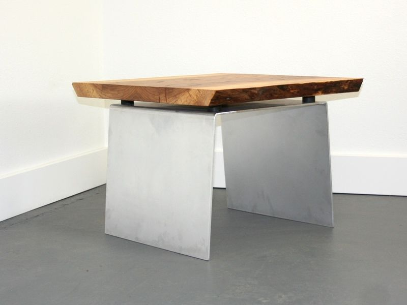 Modern Aluminum and Elm Bench or Table  Coyote Woodshop  Wood TablesDining. Modern Aluminum and Elm Bench or Table  Coyote Woodshop