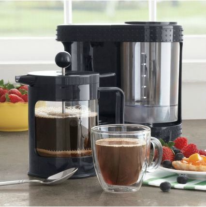 Bodum® Bistro Electric French Press $44.99 (for his desk at work)