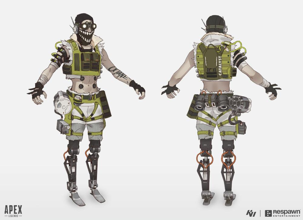 Kejun Wang On Twitter Apex Concept Art Octane