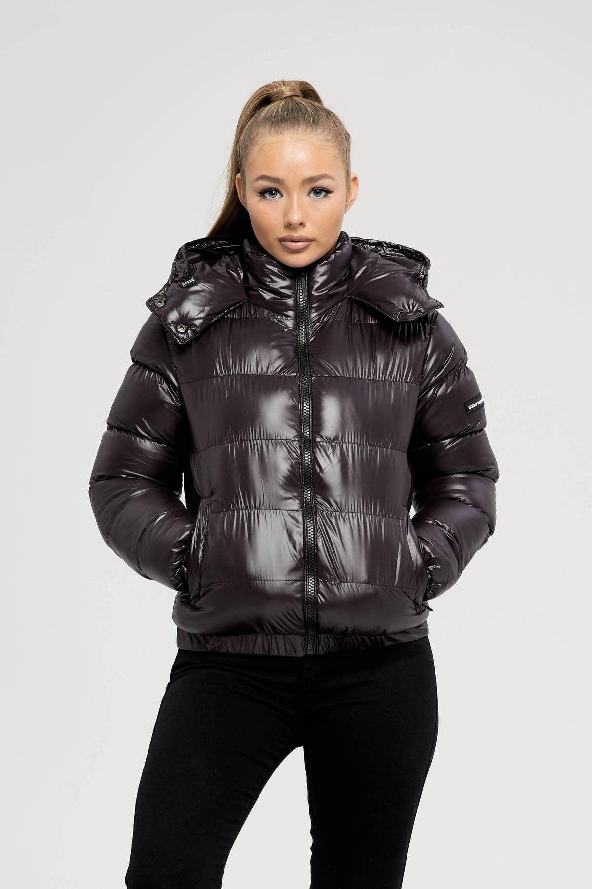 Her Cyclone Black Puffer Jacket Jacken Daunenjacke Daunen Jacke [ 1800 x 1200 Pixel ]