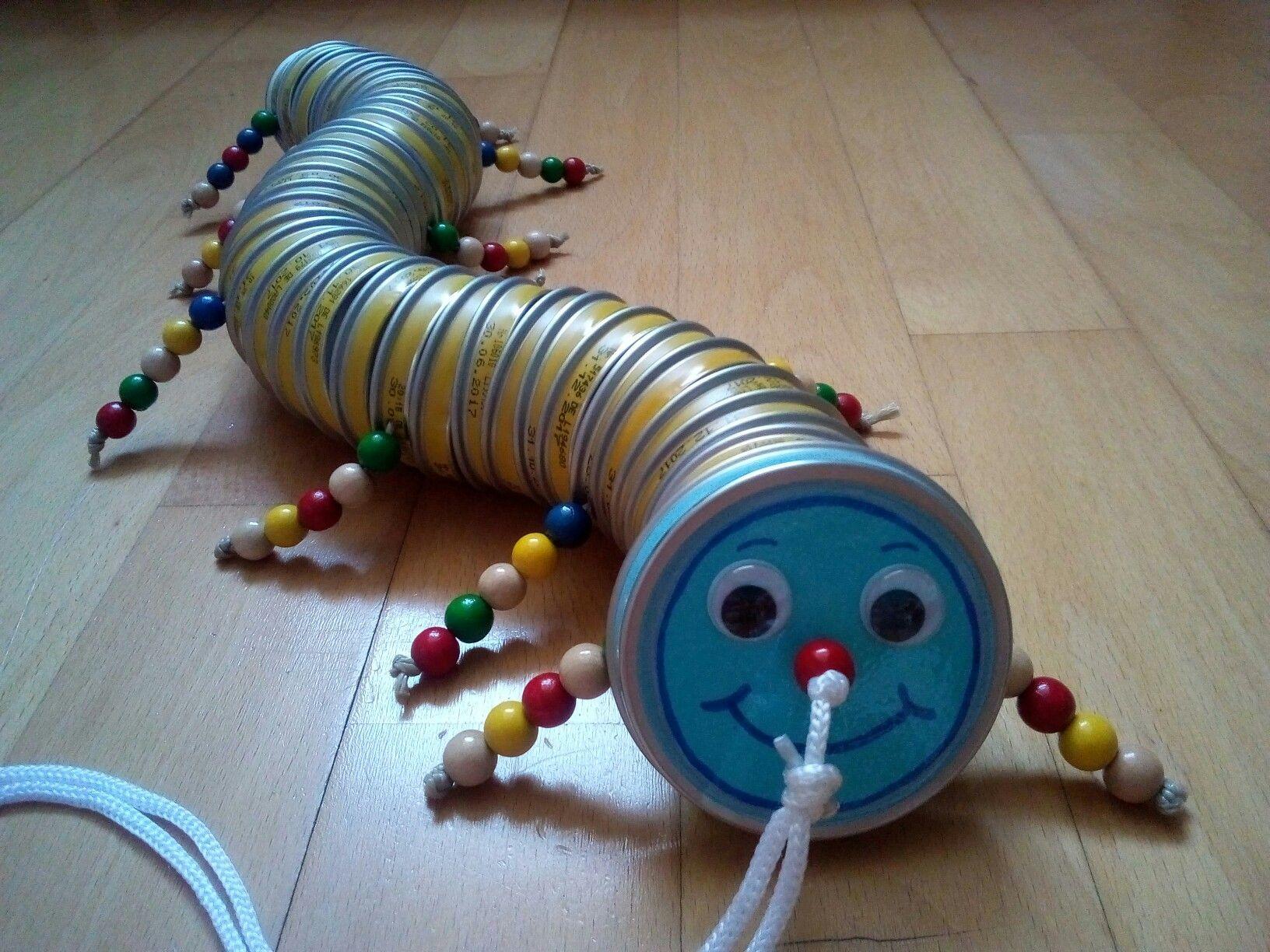 Spielzeug Raupe