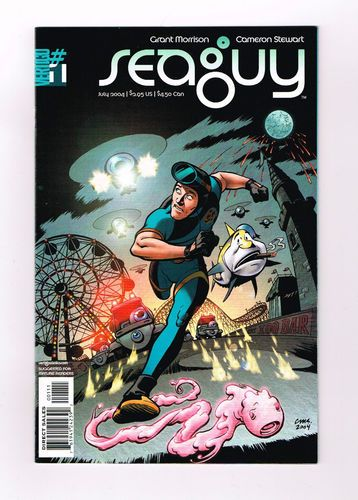 SEAGUY Great 3-part series by Grant Morrison from DC Vertigo! NM http://r.ebay.com/MhpX6L