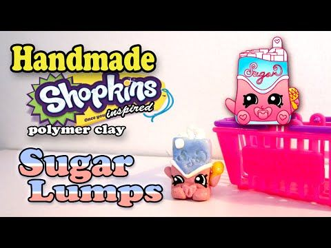 How To Make Shopkins: Sugar Lumps Polymer Clay Tutorial!   YouTube