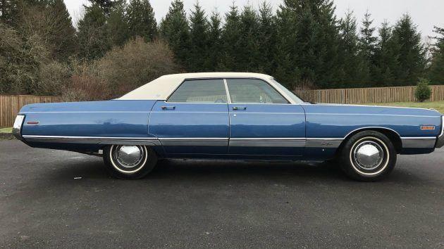 Big Blue Survivor! 1971 Chrysler New Yorker