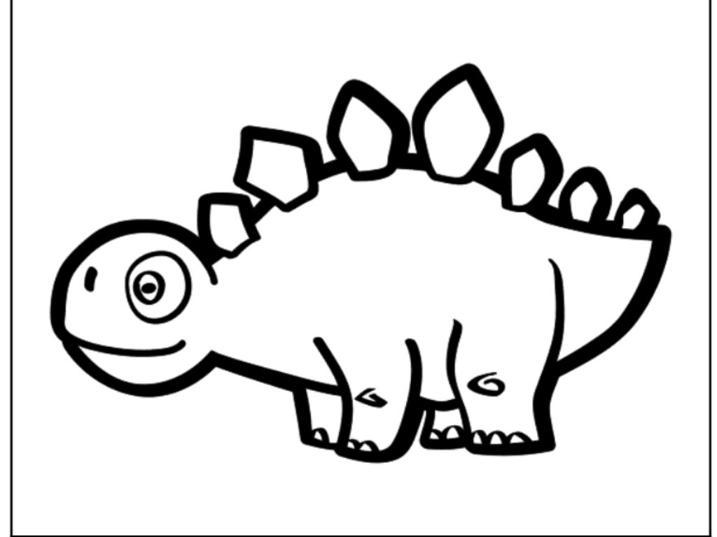 Increíble Dibujos De Dinosaurios Para Colorear Online