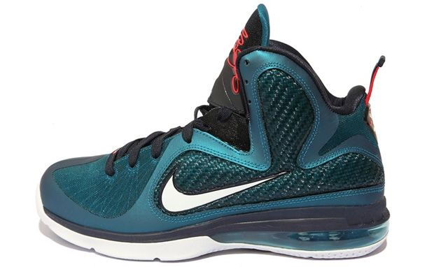Buy Online Nike Lebron 9 Shoes Griffey Green Abyss White Obsidian Light  Blue Heather 469764 300 from Reliable Online Nike Lebron 9 Shoes Griffey  Green Abyss ...