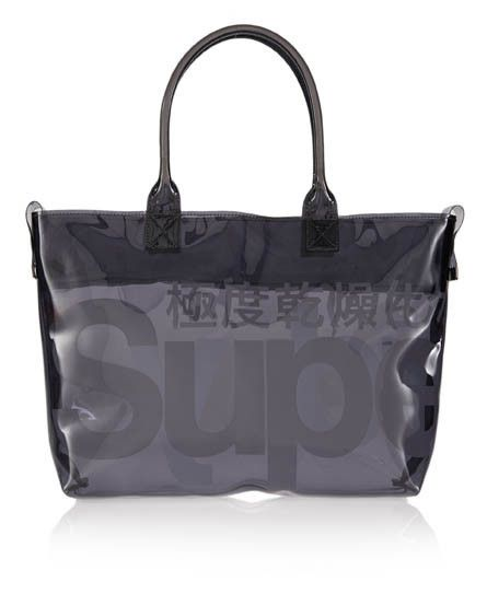 Shop Superdry Womens Mini Whopper Shopper Bag in Smoke/optic. Buy now with  free delivery from the Official Superdry Store.