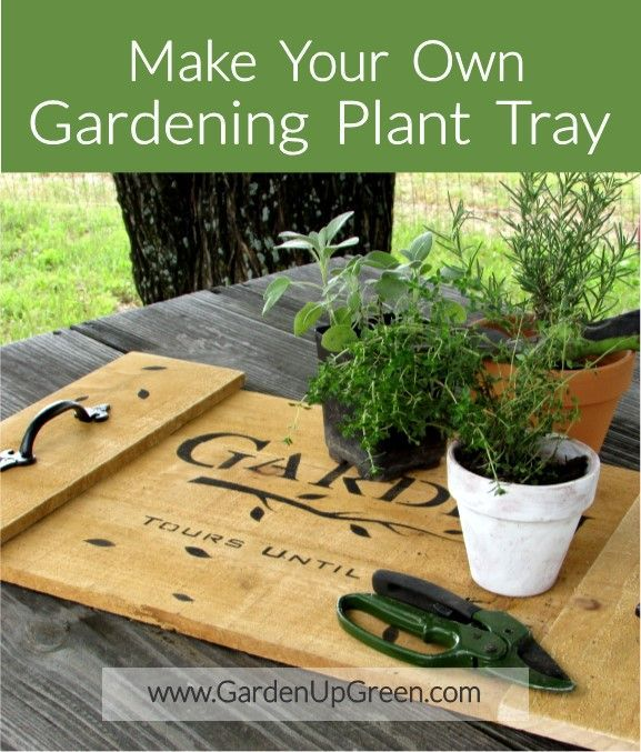 Make Your Own Garden Planting Tray. This Is A Fun And Easy Project You  Wonu0027t Want To Miss. #Gardenprojects, #Garden