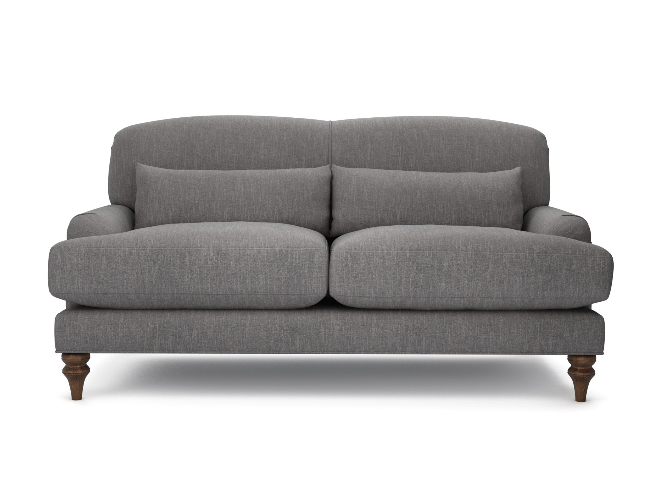 Sofa lounger pictures to pin on pinterest - The Lounge Co Rosie 2 Seater Sofa In House Cotton Linen Squirrel Tail