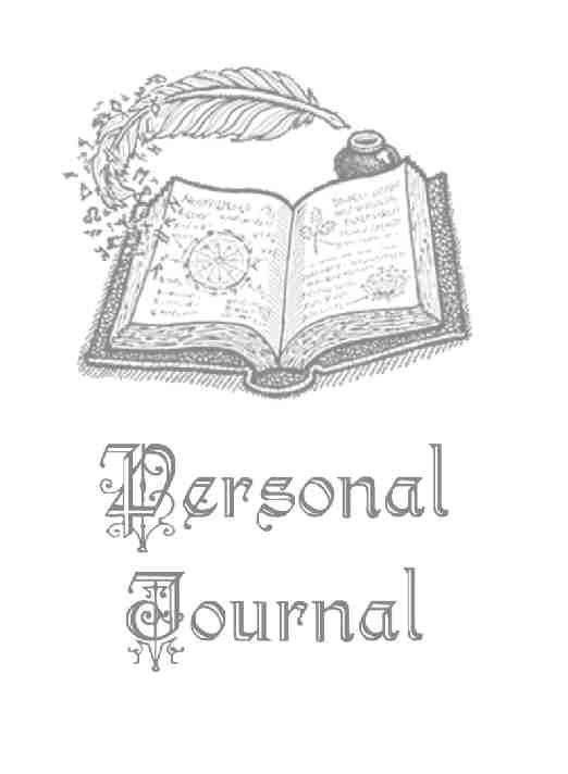 Journal Title Page Book Of Shadows Book Of Shadow Wiccan Spell Book