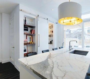 My Houzz Modern Annex Renovation Contemporary Kitchen Toronto Andrew Snow Photography Interior Sliding Barn Doors